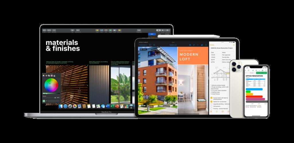 Le télétravail avec les solutions avantageuses Apple